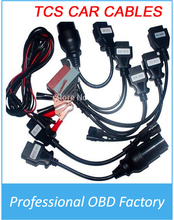 Best price Interface OBD2 8 Pieces Car Cables CDP Scanner and Full Set china post Shipping(China)