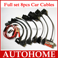 8 full set cdp ds150-e car cables for TCS cdp pro plus scanner with good quality with free china post shipping
