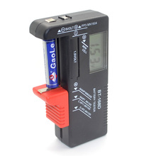 BT - 168 - d Battery Tester For AA AAA 9V 1.5V 3V Battery Free Shipping 12001068(China)