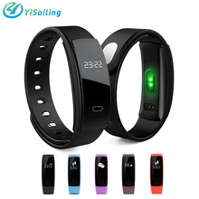 YiSailing Smart Bracelet Heart Rate Smart Band Blood Pressure Monitor Smart Wristband Fitness Tracker Smartband For IOS Android
