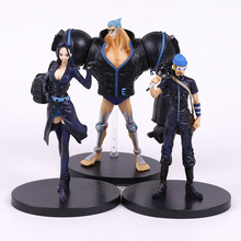Anime One Piece Film Gold PVC Figures Toys Luffy Chopper Brook Robin Franky Usopp Nami Zoro Sanji