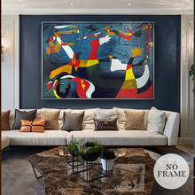 Picasso Famous Abstract Oil Painting Home Decoration Big Picture HD Canvas Painting Art Wall Pictures For Living Room Posters(China)