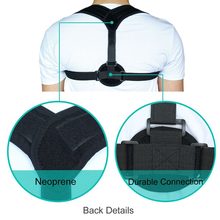 Aptoco Clavicle Posture Corrector Back Support Belt Shoulder Bandage Corset Back Orthopedic Brace Scoliosis Posture Corrector(China)