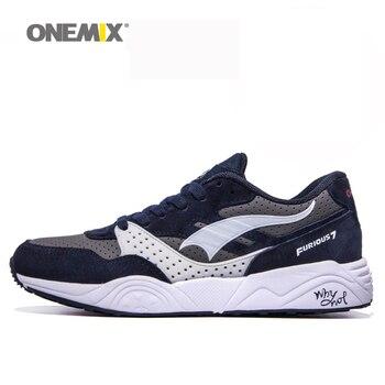 Onemix original onemix velocidad de 7 corrientes de los hombres zapatos de marca zapatos transpirables para caminar al aire libre chaussures de deporte envío libre 1106