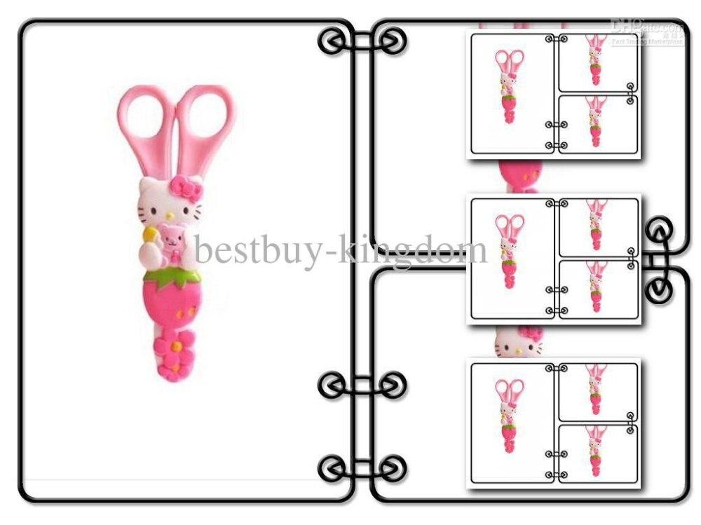 Sanrio hellokitty hello kitty KT pink girl Scissors scissor with Ruler Stationery FREE DROP PINK WHOLESALER<br><br>Aliexpress