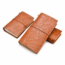 Moterm Genuine leather notebook Handmade travelers notebook Classic vintage style Cowhide diary journal Refillalbe Free shipping(China)