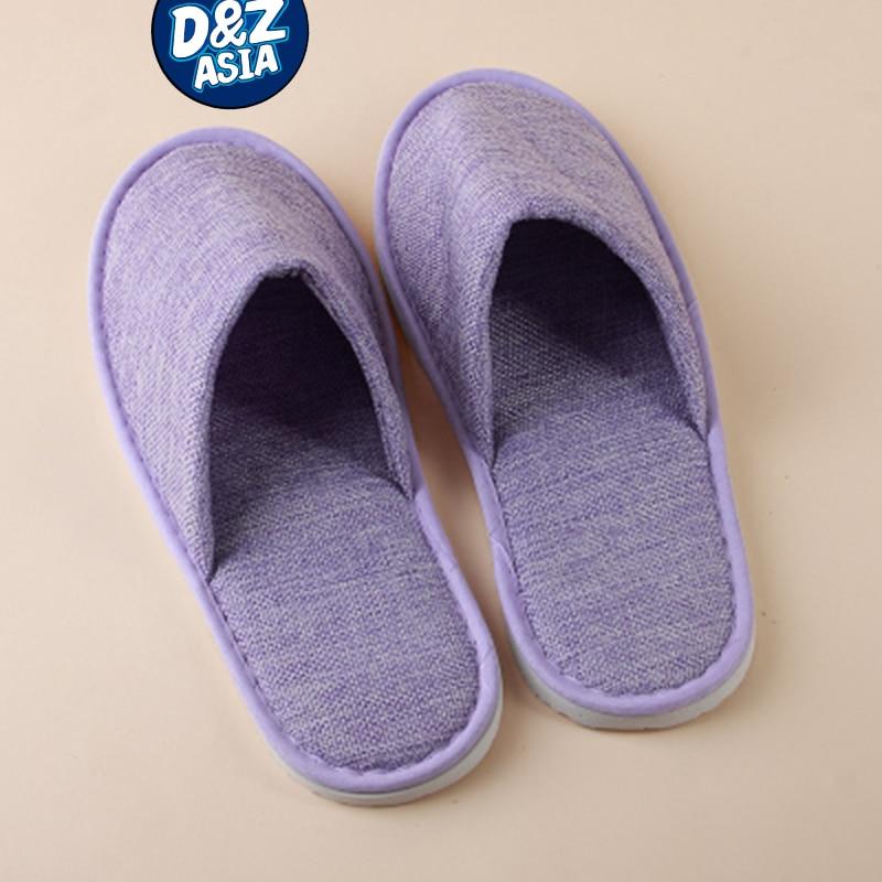 10 pairs/lot japanese linen ladlies slippers heavy-bottomed non-slip indoor wooden floor home<br><br>Aliexpress