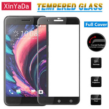 Xinyada Full Coverage Screen Protective Film Tempered Glass For HTC One X10 Full Cover Glass Screen protector Guard