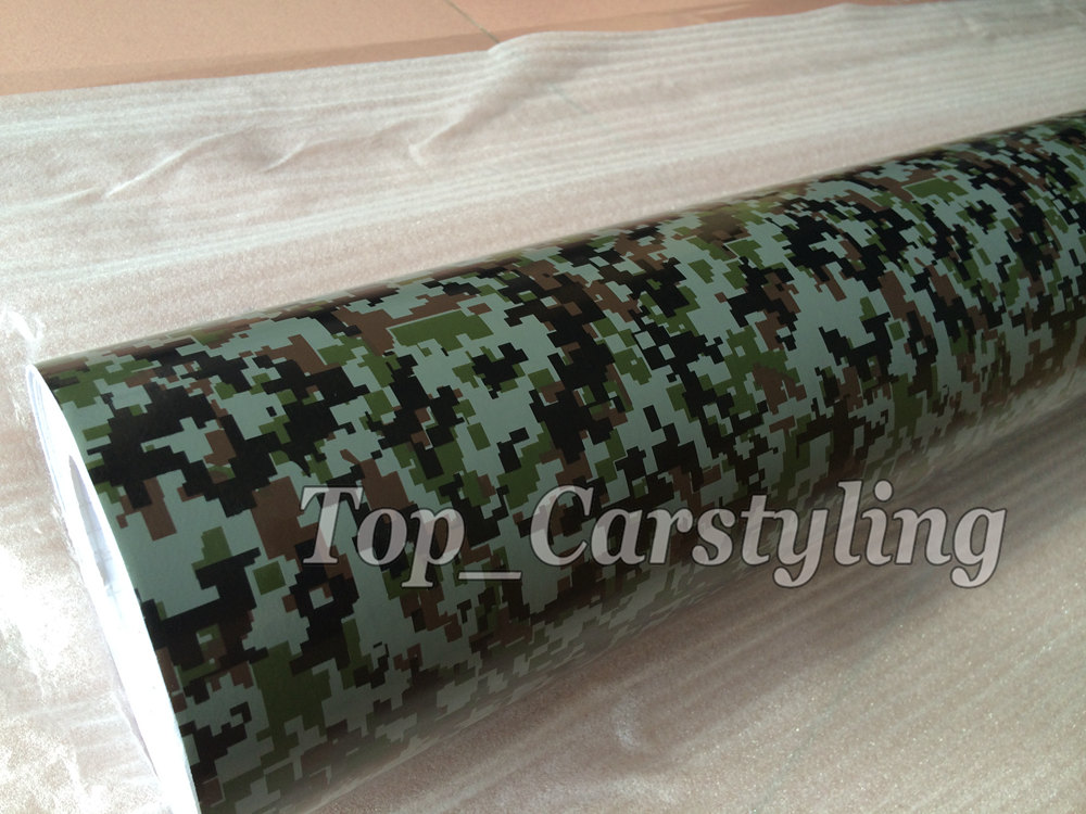digital camouflage vinyl car wrapping film with air free (4)