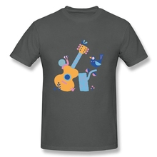 Nature music Man's Slim Fit Short Sleeve T Shirts O-neck Plain Cotton Custom Screen Printed Tees Shirts for Man
