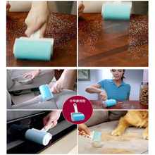 Hot Worldwide Washable Sticky Hair Removal Roller for Pet Dust Clothes Furniture Cleaning Lint Rollers & Brushes