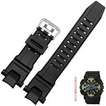 New replacement Matte Silicone stainless steel clasp for CASIO GW-4000 GW-A1000 GA-1000 Driving Sport watch(China)
