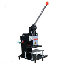 Manual Hot Foil Stamping Machine printer Leather Logo Embossing Machine 15*10Cm 220V(China)