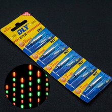 10PCS Battery Electronic Fishing Float Battery CR425 Night Electronic Luminous Float Battery Lithium Pin Cells Fishing Accessory