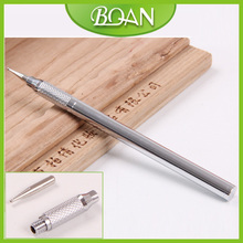 BQAN Newest 12.2cm Handle and Changeable Tips Metal Nail Art Nail Dotter 10pcs/lot