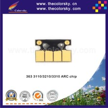 (ARC-H363) auto reset ink jet cartridge chip for hp 363 HP363 8775EE 8721EE 8719EE Photosmart 3110 3210 3310 C5140 C5150 C5180(China)