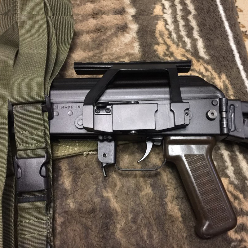 AK Mount 47 74 SVD Side Rail QD Scope Sight Torch Attachment 20mm Airsoft RL2-0022-3