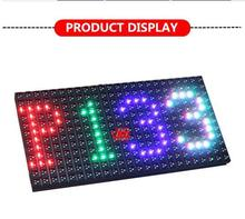 led display led programmable sign display board p13.33 with brightness sensor P13.33 truck mobile led display signs panels