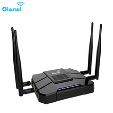 1200Mbps openWRT dual band 2.4G/5GHz router 512MB English version firmware mobile wifi router 4g 3g with sim card slot(China)