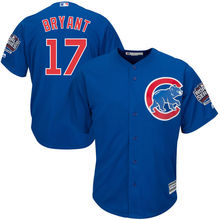 MLB Men's Chicago Cubs Kris Bryant Baseball Royal Alternate 2016 World Series Champions Cool Base Player Jersey