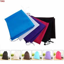 Let's Pet Thick Non-Woven Laundry Shoe Bag Travel Pouch Storage Nice Portable Tote Drawstring Storage Bag Organizer Covers