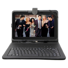 "Free Shipping  Boda tablet  pc 10.1"" inch HD Screen Android 4.2 A23 8G Bluetooth Dual-Core  w/ WiFi  10 inch With free Keyboard"