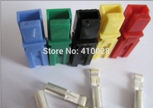 New battery 30A 600V Power Connector for16AWG-12AWG  Battery Plug+terminals for E-bike forklift electrocar,six color