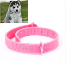 New Fashion Unique novelty Pet Collar Neck Ring Leave Away From Flea Tick Mite Louse Remedy animal accessories(China)