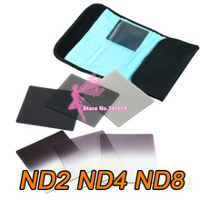 6 pcs Full ND + Gradual ND Filter Kit for Cokin P Series 6pcs - Wholesale/ Retail Free shipping(China)