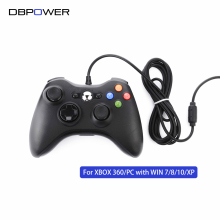 DBPOWER USB Wired Game Controller For xbox360 Gamepad Joypad Joystick For Xbox 360 Controller Slim Accessory PC Computer(China)