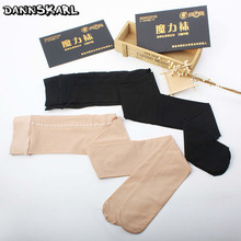 Buy 2018 New Collant Summer Women Tights Spring Magic Tights Women Sexy Black Female Silk Stockings Meias Nylon Women Pantyhose
