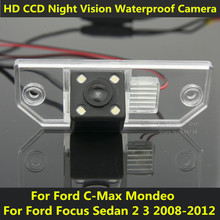For Ford Focus Sedan 2 3 2008 2009 2010 2011 2012 C-Max C Max Mondeo Car CCD Night Vision Backup Rear View Camera Waterproof