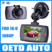 "High quality CAR CAMERA 2.7"" FULL HD 1080P CAR DVR/ car video recorder support night vision, SOS one key lock multi-language"