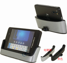 Dual Charging Dock Cradle Battery Charger Holder Stand For Blackberry Z10 #ND