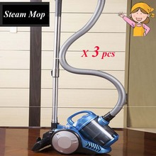 3 Sets 2016 Home Handheld Vacuum Cleaner Mini Steam Mop Carpet Cleaning Machine with Acarid-killing Brush