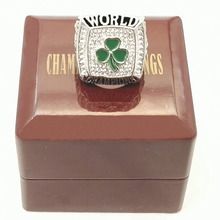 Promotion for Factory price Good Quality  2008 Paul Pierce basketball championship ring replica with Wooden Boxes