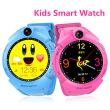 Kids Healthy GPS Smart Watch Anti Lost SOS Calling Fitness Smart Watch for Kids Birthday Gifts Wristwatch Support Video Call