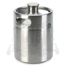 Mini beer keg Stainless steel AISI 304