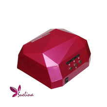 36W Nail Dryer&FREE SHIPPING Original Box LED CCFL Light Dimond Shape Gel Curing Lamp Popular Drying Gel Polish Tools