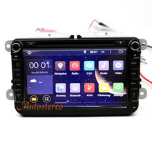 The Latest Quad-core 8 Inch Auto Stereo GPS Navigation Car DVD Player For Volkswagen Polo Touran Jetta WIFI Bluetooth