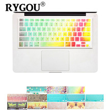 2016 Newest Design keyboard stickers for macbook air 13 keyboard cover for macbook pro 13 15 17inch laptop & imac keyboard cover