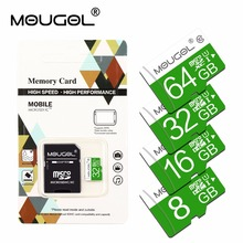 high speed carte sd 16gb 32gb memory card Micro SD cards 64GB 32GB 16GB 8GB microsd Cards map memoria with retail package(China)