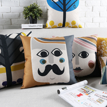 Creative geometric Home Decor Pillow Nordic style Cushions For Sofas fashion men and women Cushion Cover can be customized