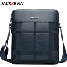 Jack Kevin 2017 New Cow Leather Men's Handbag Business Brand Designer Leather Oblique Tote Bags Bags