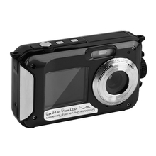 2.7inch TFT lcd Digital Camera Waterproof 24MP MAX 1080P Double Screen 16x Digital Zoom Camcorder