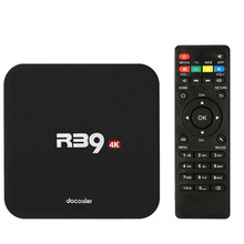 Docooler R39 Smart Android 6.0 TV Box RK3229 Quad Core 16.1 UHD 4K 1G / 8G Mini PC WiFi H.265 HD Media Player