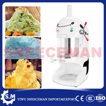 automatic snow ice shaver block shaving machine ice Crusher shaking machine(China)