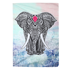 New Tapestry Beach Towels 3D Elephant Totem Print Dacron Tapestry Indian Home Tapestry For Travel Towel For Beach Hot