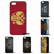 Original Russian coat of arms Flag Hard Phone Case For Xiaomi Redmi Note 2 3 3S 4 Pro Mi3 Mi4i Mi4C Mi5S MAX iPod Touch 4 5 6