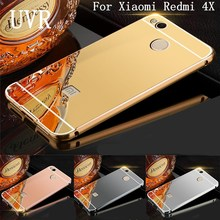 Buy UVR Xiaomi Redmi 4x Case Cover Back Cases Hard Coque Luxury Gold Mirror Cases Redmi 4x Cover Capas 5.0 inch for $3.49 in AliExpress store